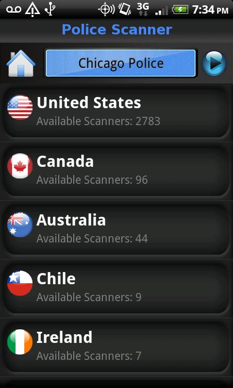 Police Scanner Live Screenshot 1
