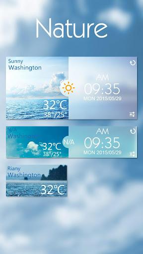 Nature GO Weather Widgets
