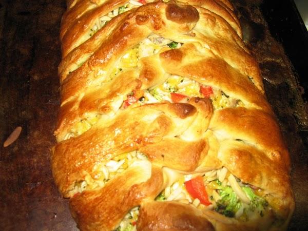 Chicken And Broccoli Braid Recipe