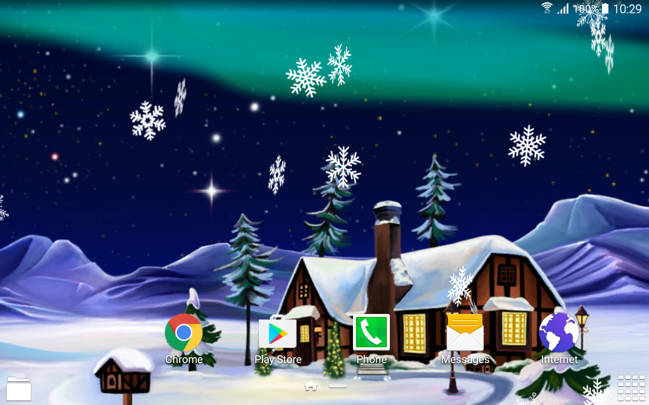 Northern Lights Live Wallpaper- screenshot