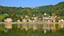Вдоль Сены, деревня Caudebec en Caux