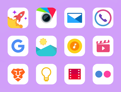 Lihtor - Icon Pack - náhled