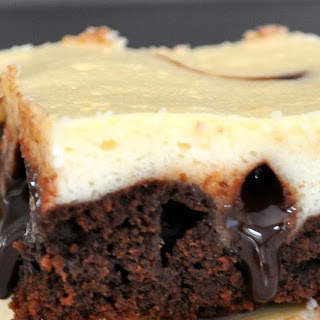Cheesecake Brownies with Chocolate Fudge