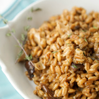 Farro Mushroom Risotto with Progresso Recipe