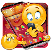 Lovely Emoji Launcher Theme