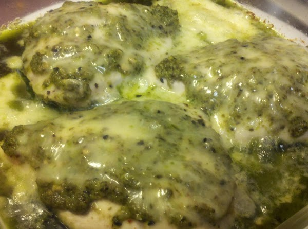 Baked Pesto Chicken, Low Carb Recipe