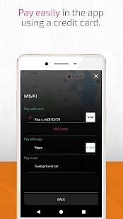 Mivai – Taxi app - náhled