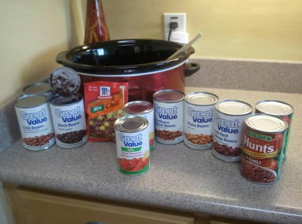 Items For The Chili