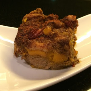 Cinnamon Pumpkin Bread Pudding