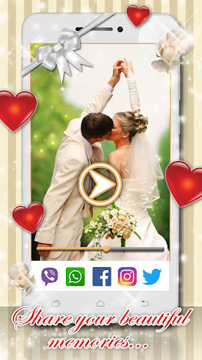 Wedding Video Maker with Music ud83dudc9d 1.4 screenshots 4
