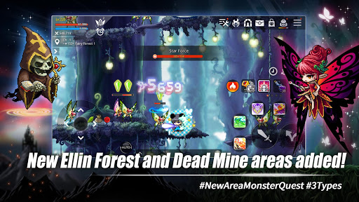 MapleStory M - Open World MMORPG android2mod screenshots 14