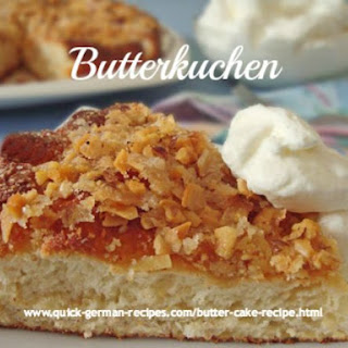 German Butter Cake Recipe
