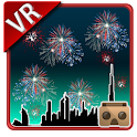 VR Fireworks Cardboard Live 3D