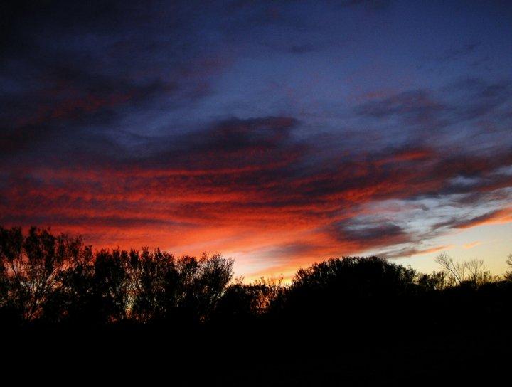 Blu di un'alba in Australia di giusco10