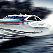 Speed Boat Racing Wallpaper