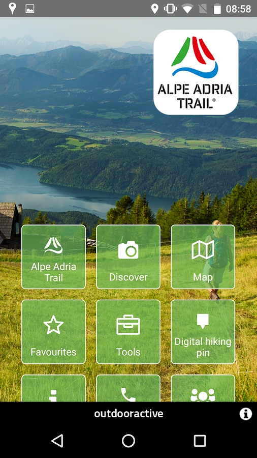 Alpe Adria Trail- screenshot