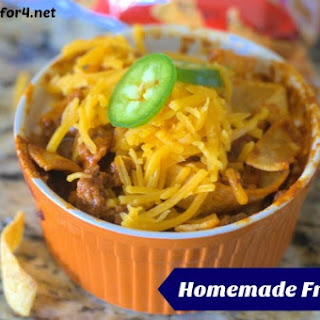 Homemade Frito Pie