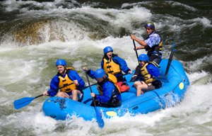 Photo: Wildwasser Rafting