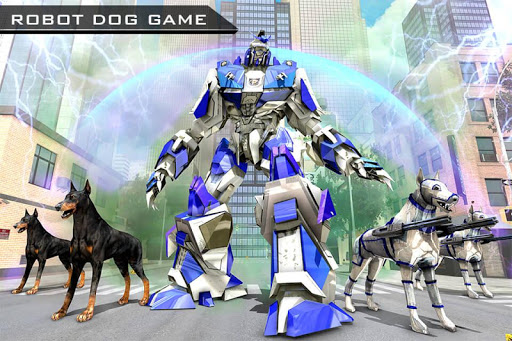 US Police Robot Dog - Police Plane Transporter 1.1 screenshots 7