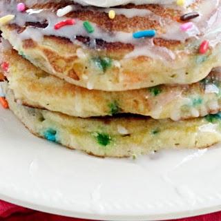 Sprinkle Cake Pancakes