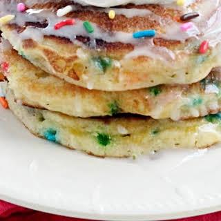 Sprinkle Cake Pancakes.