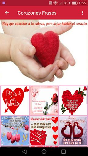 Corazones Con Frases De Amor Para San Valentin Apk Download