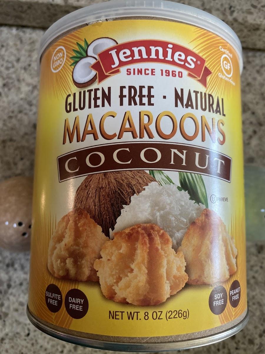 Jennies, Coconut Macaroons