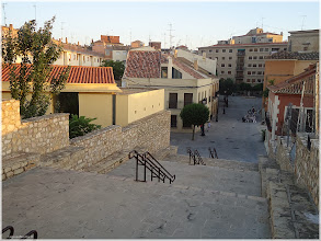 Photo: Vista desde las Escaleras del Castillo. Almansa 