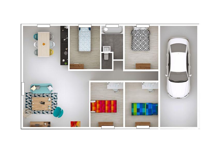 Vente maison 5 pièces 91 m² à Saint-Marcel-de-Félines (42122), 188 500 €