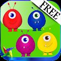 Kindergarten Learn Colors FREE icon
