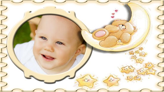 baby frames photo montage screenshot