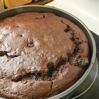 Fruity Ricotta Chocolate Cake.