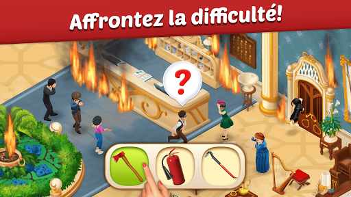 Télécharger Gratuit Family Hotel: match-3 romantique et de décoration APK MOD (Astuce) screenshots 1