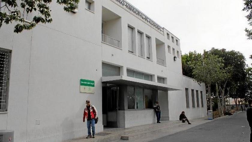 Fachada del Centro Municipal de Acogida