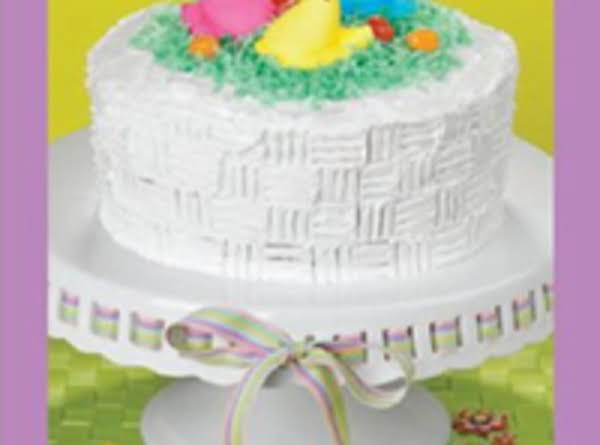 Easter basket cake recipe just a pinch recipes easter basket cake recipe negle Gallery