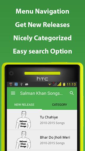 Salman Khan Songs Hindi
