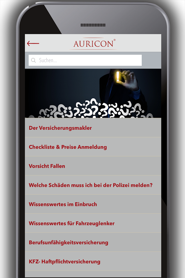 AURICON GmbH- screenshot