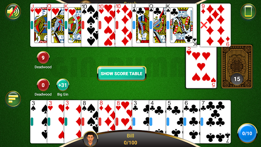 Gin Rummy  gameplay | by HackJr.Pw 15