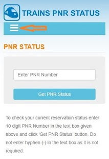 PNR status and other train information - náhled
