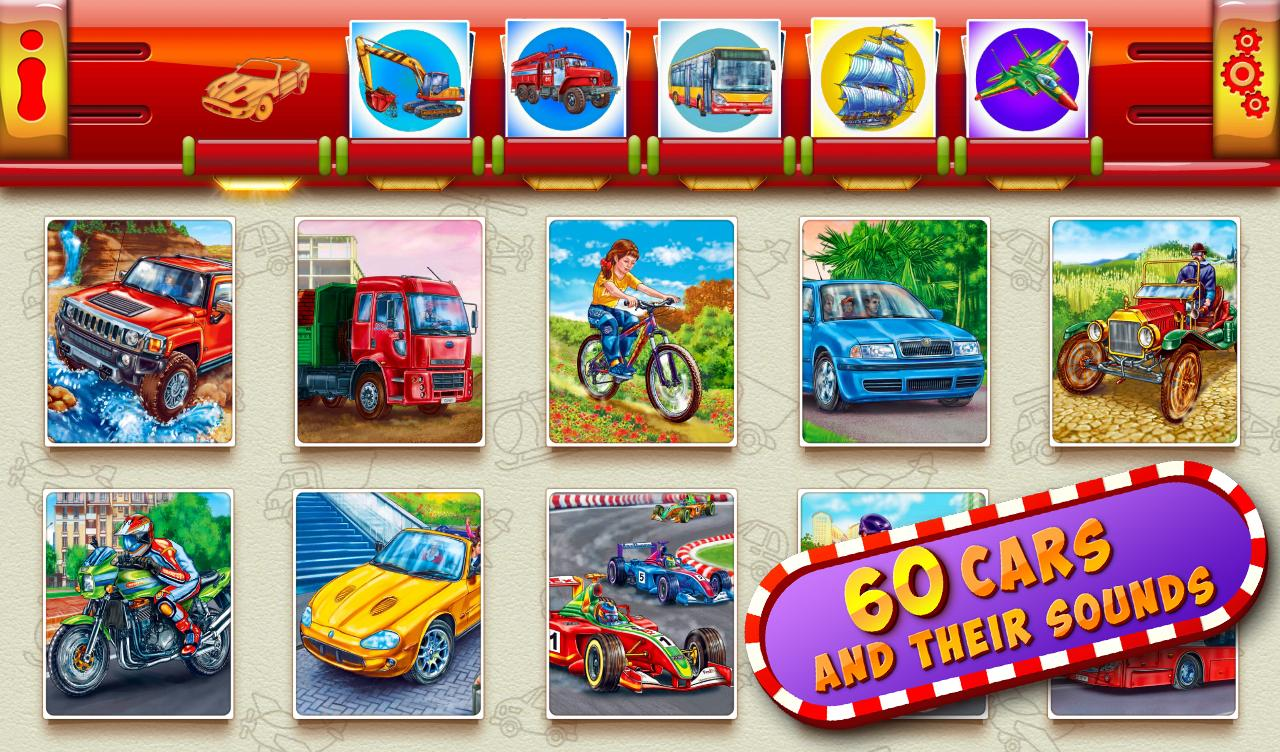 World of Cars for Kids! FULL- screenshot