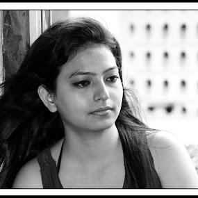 by Gautam Biswas - Black & White Portraits & People