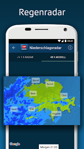 SRF Meteo - Wetter Prognose Schweiz  screenshots 5