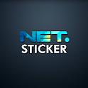 NET. Sticker icon