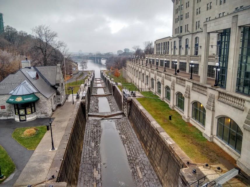Canal Rideau, Ottawa, Canadá