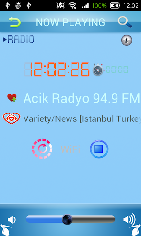 android Turkish Radio Screenshot 1