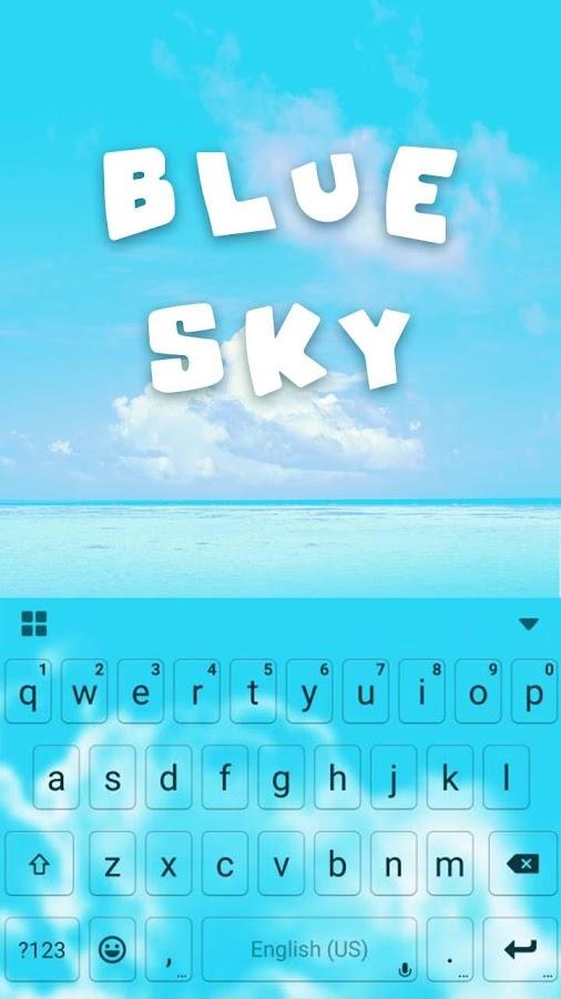 Blue-Sky-Kika-Keyboard-Theme 5