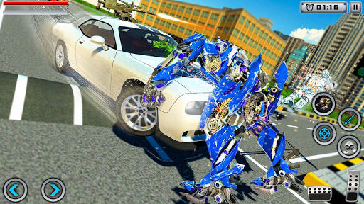 White Tiger Robot Transformation Game - Car Robot cheat screenshots 1