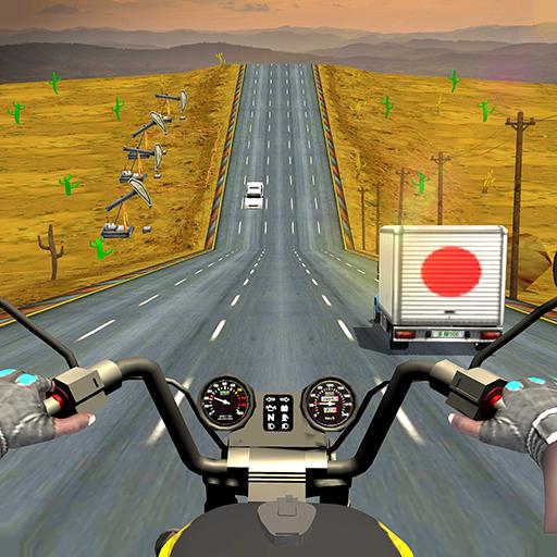 Highway Rider - Traffic Bike Racer 2018