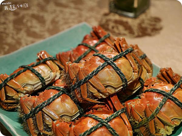 亞都麗緻天香樓時令秋蟹饗宴季節限定。台北中山區