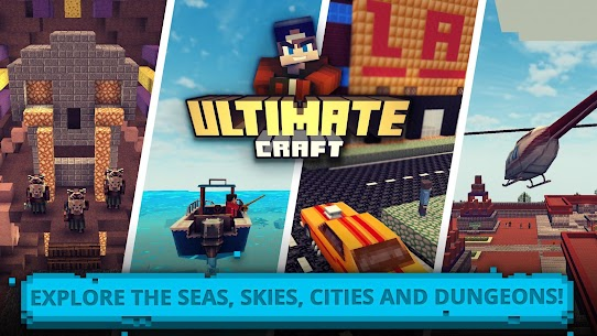 Ultimate Craft: Exploration of Blocky World App Download For Android 2